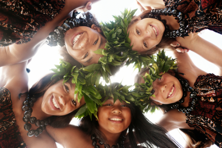 Frankfort children's hair salon and party place, Hawaiian Luaua Celebration